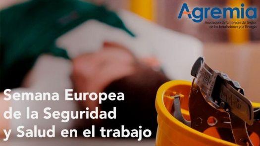 Campaña informativa de Agremia en la Semana Europea de la Seguridad y Salud en el Trabajo