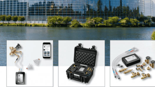 """Sistema de medición """"OV-DMC 3"""" de Oventrop para la regulación de sistemas de calefacción y refrigeración"""