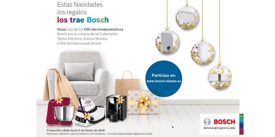 Bosch Termotecnia lanza su campaña de Navidad