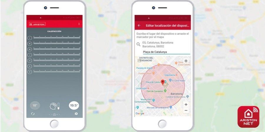 Ariston incorpora la geolocalización en la conectividad del hogar