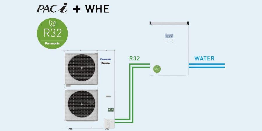 intercambiador de calor de agua panasonic