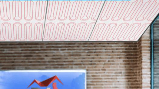 Techo radiante como sistema de climatización y su empleo en rehabilitación