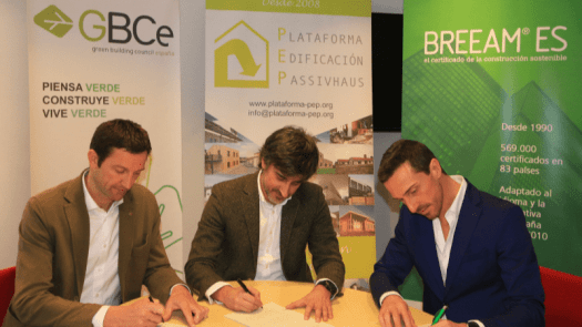 Las tres principales certificaciones de construcción sostenible aúnan fuerzas