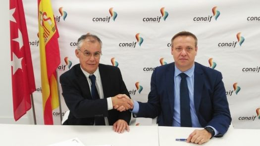 CONAIF firma sendos acuerdos de colaboración con Afogasca y Agremia