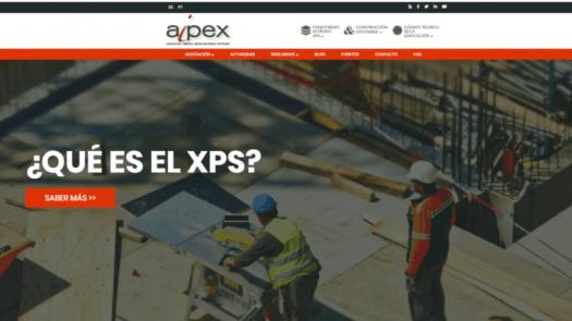 La nueva web de Aipex dedica un espacio a la construcción sostenible