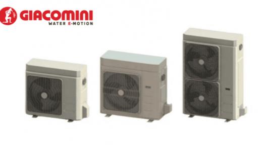 Nuevas bombas de calor Giacomini HPM para climatización y ACS