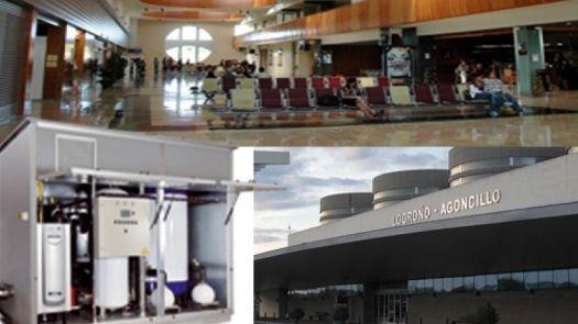 Calefacción de Adisa Heating en el Aeropuerto de Logroño para mejorar el confort de los viajeros