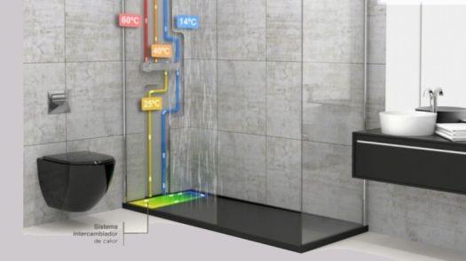 Passive Shower, el plato de ducha que ahorra energía