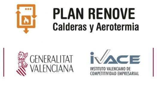 Plan Renove calderas y aerotermia domésticas 2020 en Valencia