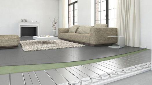 Suelo radiante sin inercia Roth ClimaComfort® Panel R 11 y 16