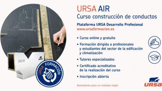 URSA Desarrollo Profesional: curso online de construcción de conductos