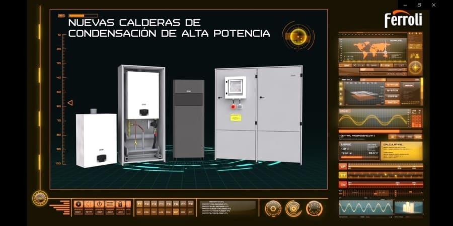 Nueva gama de calderas de condensación de alta potencia para calefacción central de Ferroli