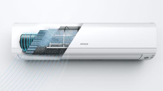 Frost Wash, la tecnología de Hitachi para mejorar la calidad del aire interior