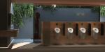 Baños públicos con grifos inteligentes que autogeneran su propia electricidad de Geberit
