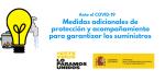 Bono social eléctrico para los autónomos y otras medidas de protección ante el COVID-19
