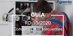 Dudas de instaladores y empresas de mantenimiento ante el Real Decreto 10/2020