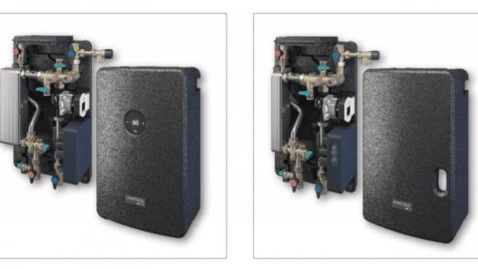 Estaciones para preparación de agua caliente sanitaria Regumaq X-25 y X-45 de Oventrop