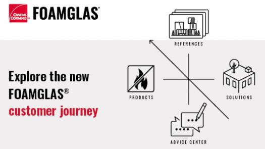 Nueva web de FOAMGLAS®: soluciones a cada problema de construcción