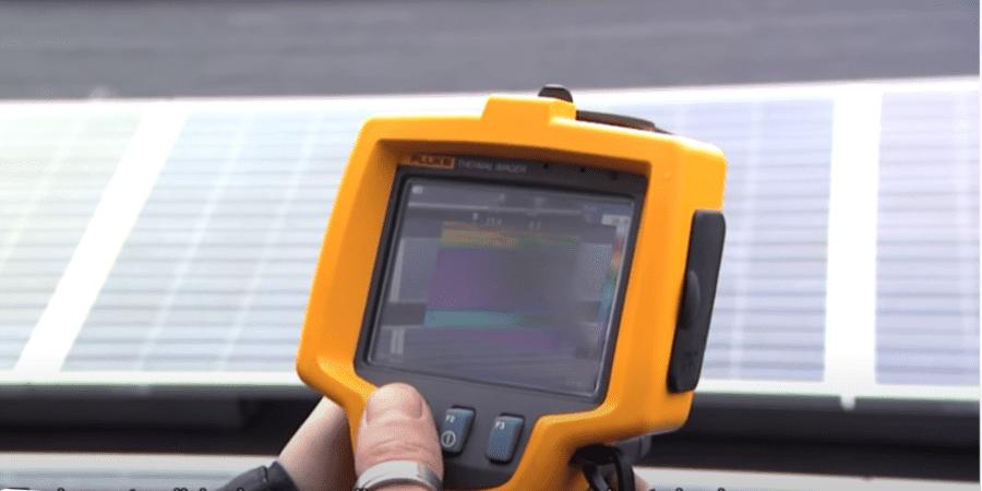 Termografía para el mantenimiento de instalaciones fotovoltaicas de Fluke