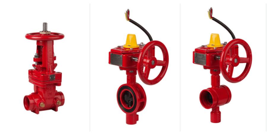Válvulas de control hidráulico para instalaciones fijas contra-incendio de Genebre