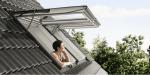 Ventana proyectante VELUX INTEGRA® con aislamiento térmico excelente