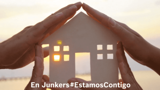 Vídeo Junkers #EstamosContigo; para hacer del hogar un lugar más confortable