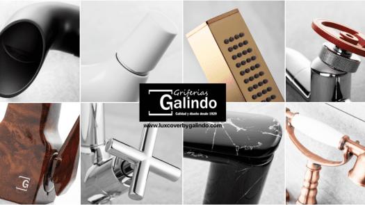 Griferías Galindo propone grifos customizados con sello personal