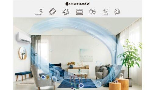 Tecnología de Panasonic para eliminar alérgenos, virus y bacterias de estancias interiores