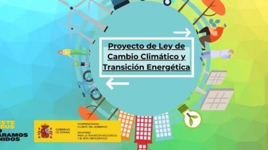 Presentado el primer proyecto de Ley de Cambio Climático
