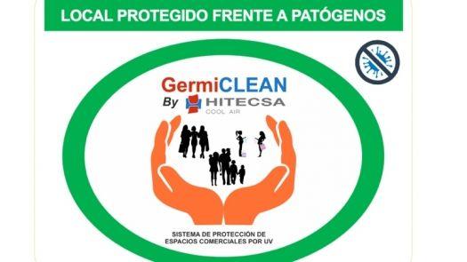 GermiCLEAN: radiación UV-C de Hitecsa para purificar el aire de los locales comerciales eliminando patógenos