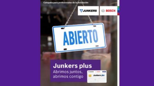 Junkers premia la fidelidad de sus instaladores de calderas murales de condensación