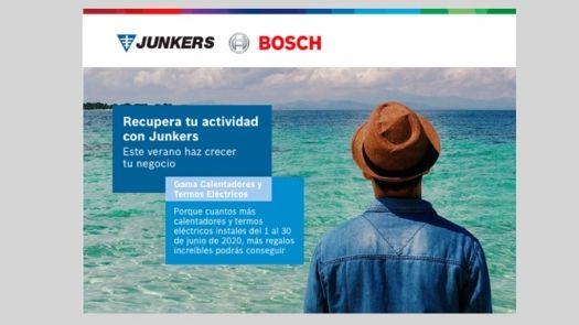 Junkers impulsa la renovación de calentadores y termos eléctricos de cara al verano