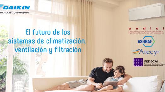 La climatización de espacios interiores, clave contra el Covid-19 según expertos convocados por Daikin