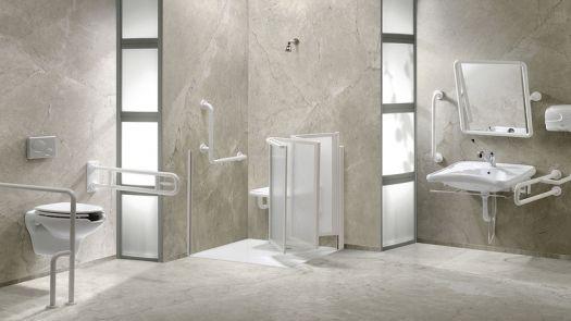 Soluciones Presto Equip para disfrutar de un baño accesible, higiénico y seguro