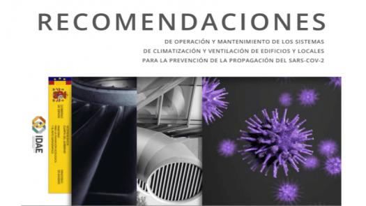 Recomendaciones sobre el uso de sistemas de climatización y ventilación para prevenir la expansión del COVID-19
