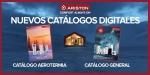 Primer catálogo de aerotermia de Ariston en formato digital y físico