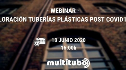 Webinar de Multitubo sobre la cloración de tuberías plásticas post Covid-19