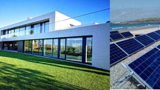 Aerotermia con fotovoltaica para la climatización de una vivienda unifamiliar por Enertres