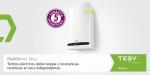 Termos eléctricos inteligentes BelliSlimo Dry de Tesy: diseño, versatilidad y eficiencia