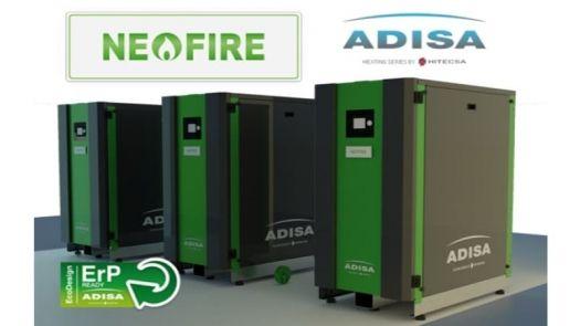 Nueva gama de calderas de pie de condensación NEO FIRE de Adisa Heating