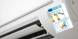 etiqueta energética en el aire acondionado