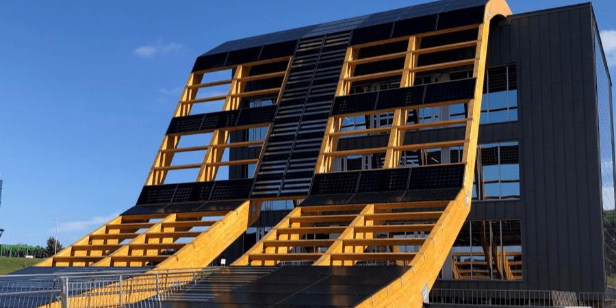 greenspace sostenibilidad en edificios de oficinas