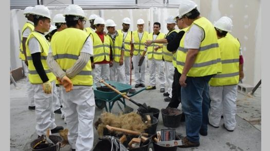 La Fundación Laboral formó a casi 95.000 profesionales de la construcción en 2019
