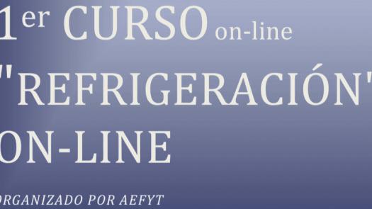 Primer curso de refrigeración online de AEFYT