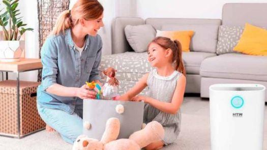 Purificadores HTW con luz ultravioleta: aire más saludable, hogar más seguro