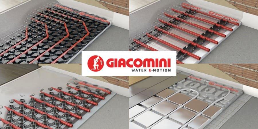 Sistemas radiantes Giacomini: soluciones integradas para climatización