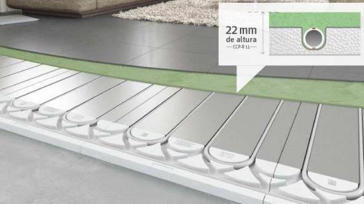 Sistema de suelo radiante ClimaComfort Panel (R)evolution de Roth