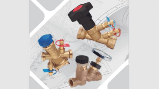 Válvulas de equilibrado STH: precisión al servicio de la simplicidad
