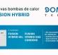 Aerotermia híbrida Domusa; perfecta para rehabilitación y compatible con radiadores