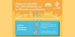 Filtración y purificación, indispensables para mejorar la calidad del aire interior